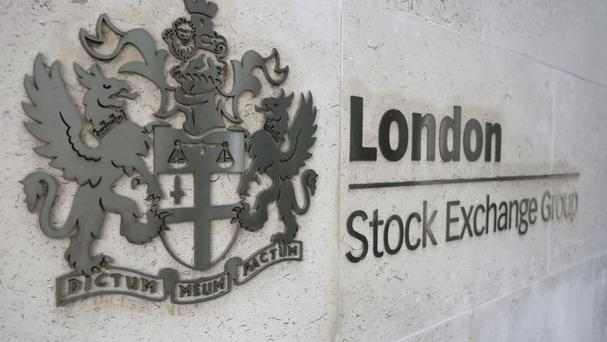 The FTSE 100 Index was down 63.4 points to 6112.5