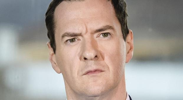 George Osborne said Britain is working with other countries to make sure tariffs are in place on imports of unfairly cheap steel