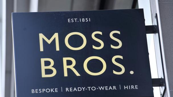 Profits at Moss Bross have increased