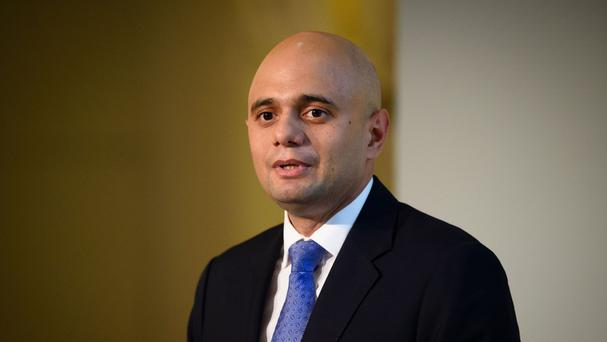 Sajid Javid, who will meet Cyrus Mistry, chairman of the Indian conglomerate