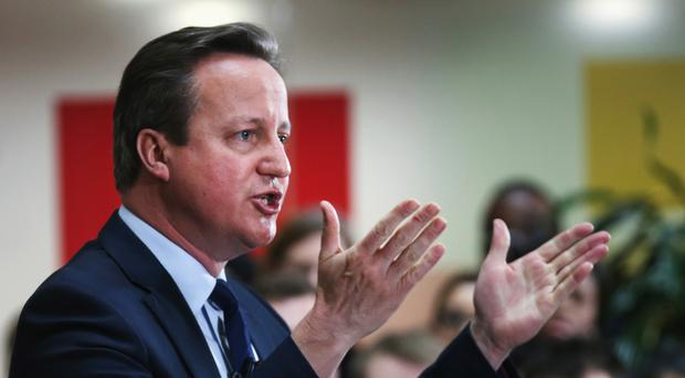 Prime Minister David Cameron declined to say if his family had reaped the rewards of an offshore arrangement in the past or were likely to in the future