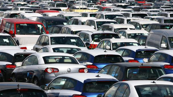 More than half a million people registered a new car following the number plate change on March 1