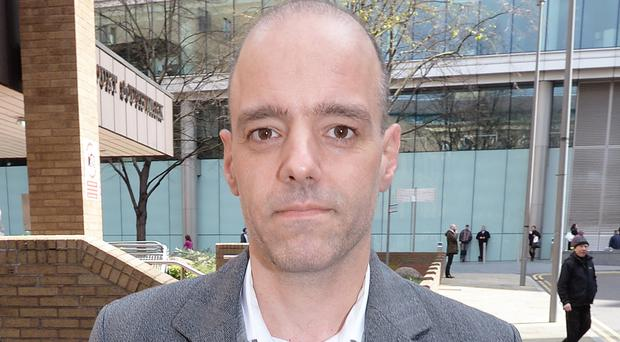 Stylianos Contogoulas (pictured), 44, allegedly sent rate submitter Peter Johnson a series of emails asking him to manipulate the benchmark interest rate