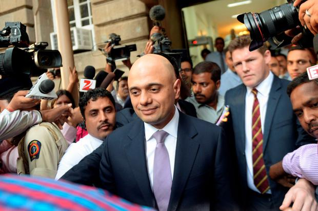 Crunch talks: Sajid Javid