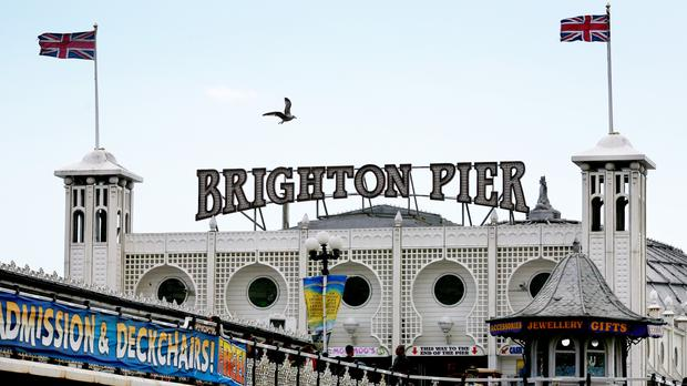 Brighton Pier is also known as the Palace Pier