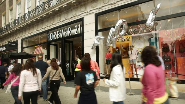 Retailer Forever 21 has closed its flagship Scottish store