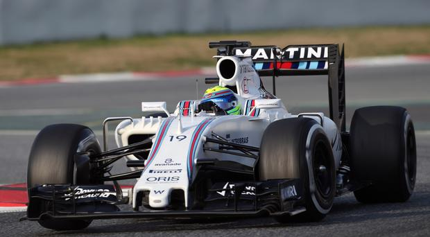 Things are looking up for the Williams F1 team