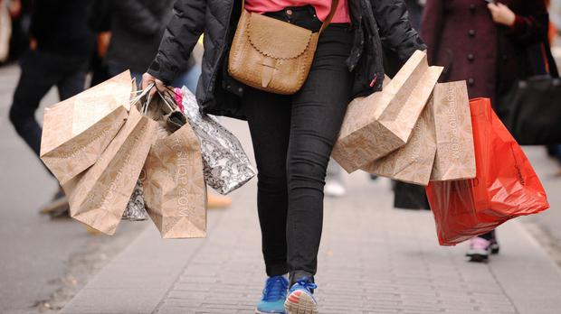 Total retail spending was flat in March