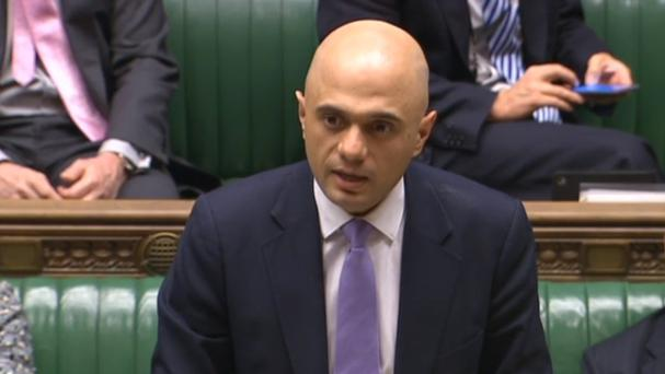 Sajid Javid maintained his stance that all options are open
