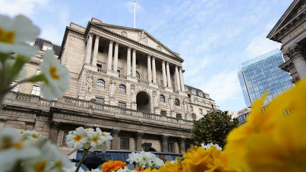 The Bank of England said demand overall is expected to increase slightly in the next three months