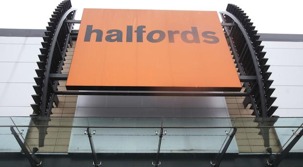 Halfords reported improvements in bike sales
