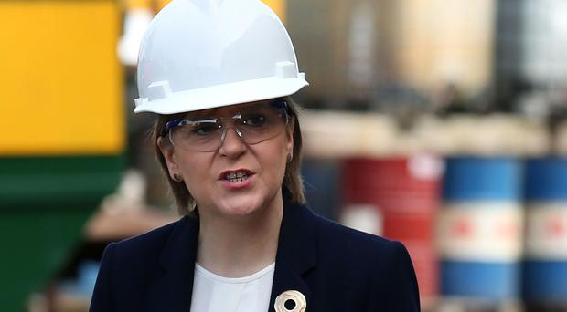 Nicola Sturgeon will visit Ferguson's shipyard, which was recently saved from closure