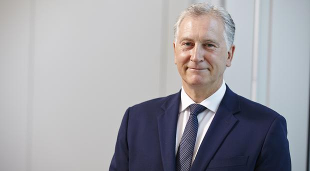 Michael Sharp plans to remain at the helm until his successor is appointed (Debenhams/PA)