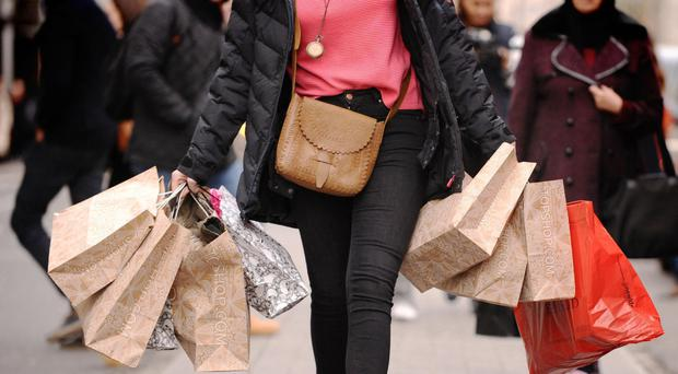 An early Easter and cold weather meant fewer shoppers on Britain's high streets - aggravating a longer-term trend