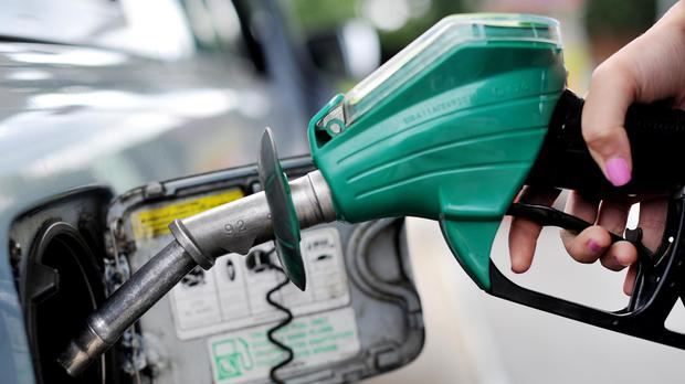Falling oil prices are keeping a lid on the cost of filling up at the pumps