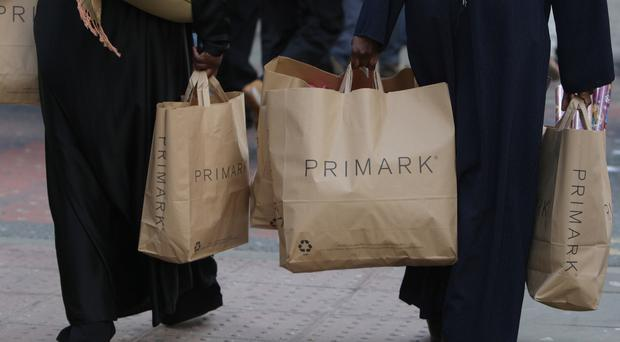 Primark profits were down 3% to £322 million although sales rose 5% to £2.6 billion