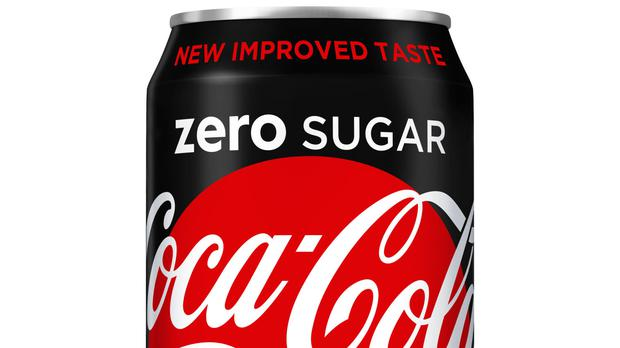 New reformulated Coke Zero (Coca Cola/PA)