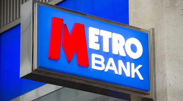 Metro Bank said it attracted a record 62,000 new customers in the first quarter of 2016
