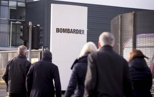 Bombardier are planning to cut 1,080 jobs over the next two years