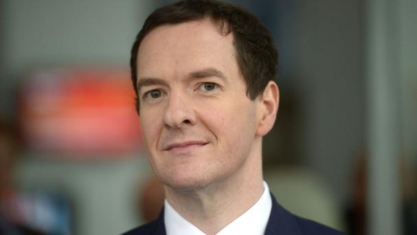 George Osborne has overshot his borrowing target by £1.8 billion