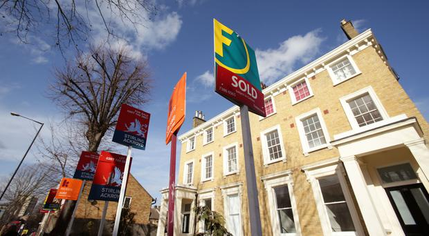 There was a sharp increase in mortgage lending in March, figures show