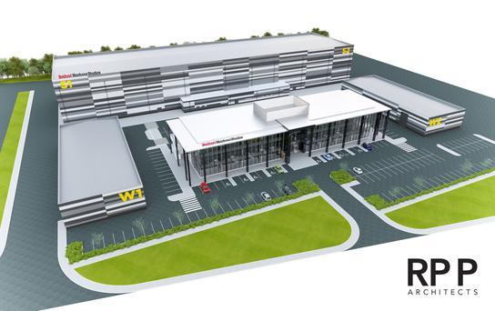 An artist's impression of the new film studios