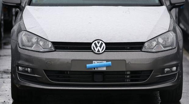 Volkswagen has reported an operating loss of 4.1 billion euro (£3.2 billion) for 2015