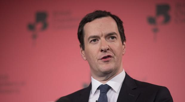 Chancellor George Osborne said the UK-led initiative was gaining international support