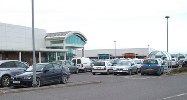 Downe Retail Park outside Downpatrick has a £17m asking price