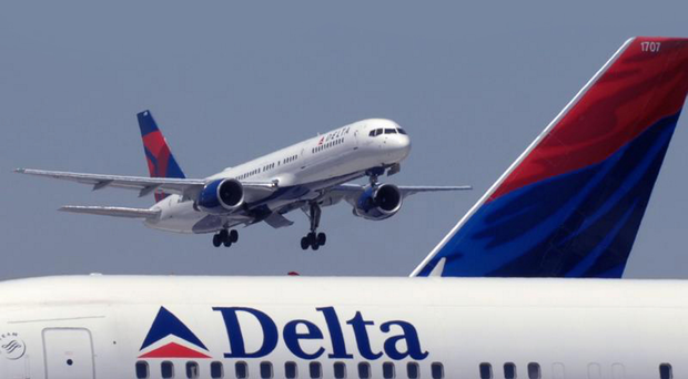 Delta Airlines planes