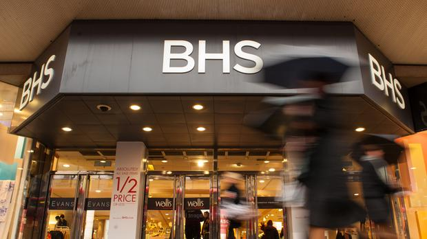 Staff at stricken retailer BHS, which has four stores in Northern Ireland, have been paid this week and will continue to receive wages as a