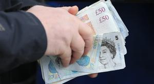The Insolvency Service will publish figures showing the number of people going insolvent between January and March.