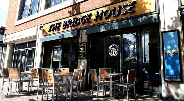 The Bridge House, a Wetherspoon's pub in Belfast city centre