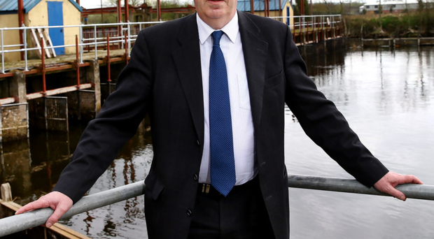 Patrick Close, CEO and chairman of the Lough Neagh Fishermen's Co-operative