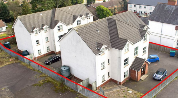 Abbeyville Court apartments in Whiteabbey have gone on the market for £1.2m