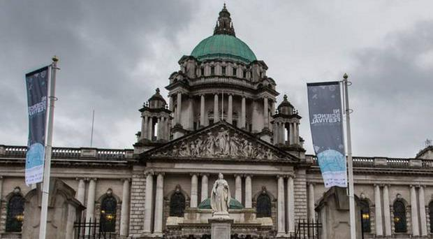 The dedication of healthcare staff could be honoured with a new stained glass window at Belfast City Hall