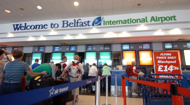 Belfast International Airport handled almost 400,000 passengers in April