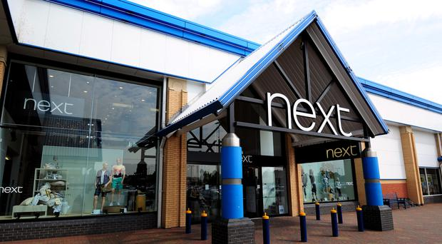 Next said the lacklustre figures could indicate a wider slowdown in consumer spending