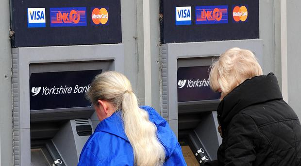 Friday April 29 was by far the most popular time for a trip to the cash machine