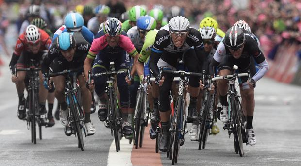 Events like the Giro d'Italia in 2014 in Belfast boosted cycling's profile