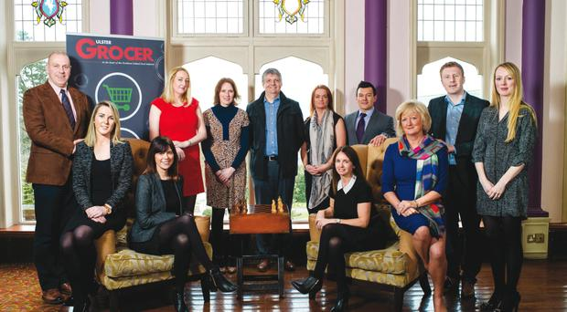 Sponsors of the 2016 awards, and category winners from 2015, gathered at the Culloden Estate & Spa ahead of tonight's gala event