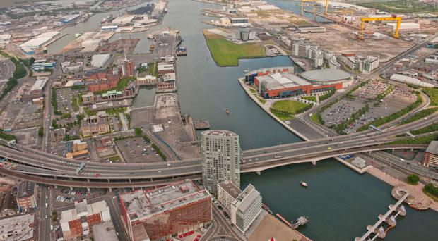 W&R Barnett operates its own dockside facilities at Belfast harbour