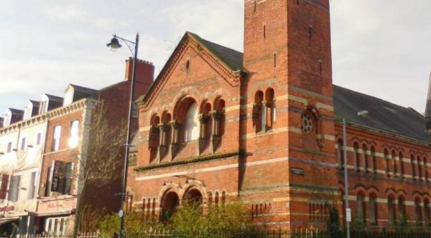 The former Methodist church which is to become a Wetherspoon's pub