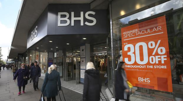 BHS collapsed in April