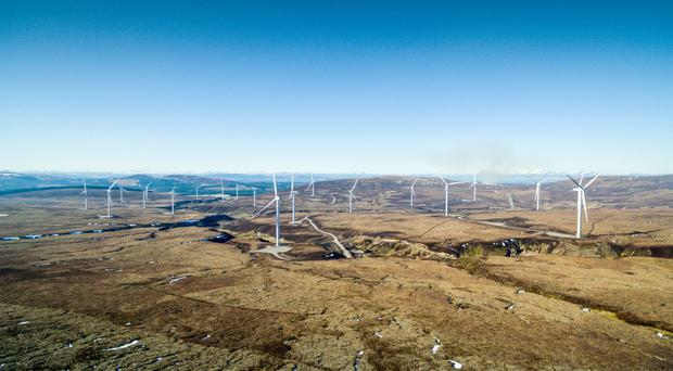 The Moy wind farm near Inverness will be used to power Mars plants in the UK (Mars/PA Wire)