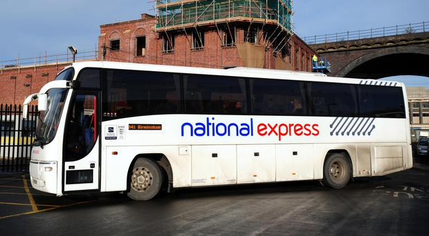 National Express said the attacks in Brussels had caused a drop in coach passenger numbers