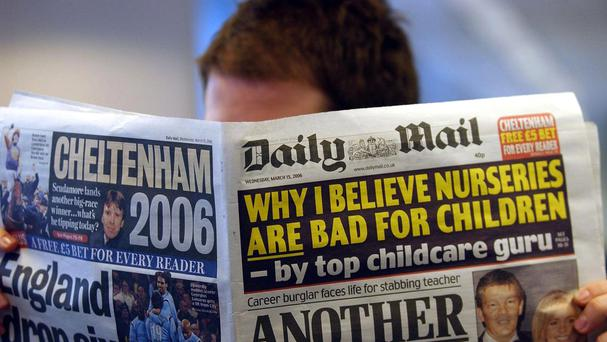 Daily Mail and General Trust Group controls the Daily Mail newspaper