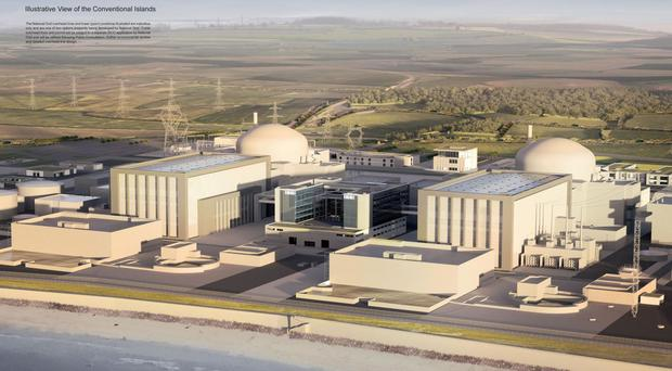 EDF estimated the cost of building the twin reactor plant at the Somerset site would be £20.7 billion (EDF)