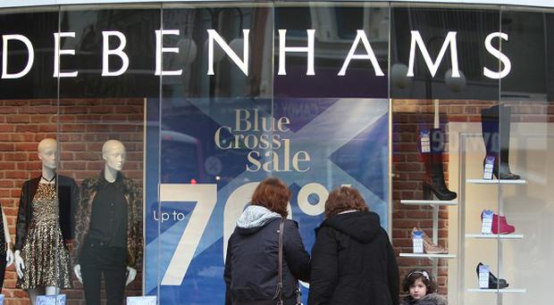 Debenhams is putting its Irish arm into examinership