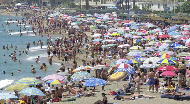 Prices for family holidays abroad rocket once the school holidays begin, figures show